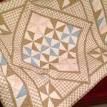 Pinwheel Medallion Quilt – Baby Quilt