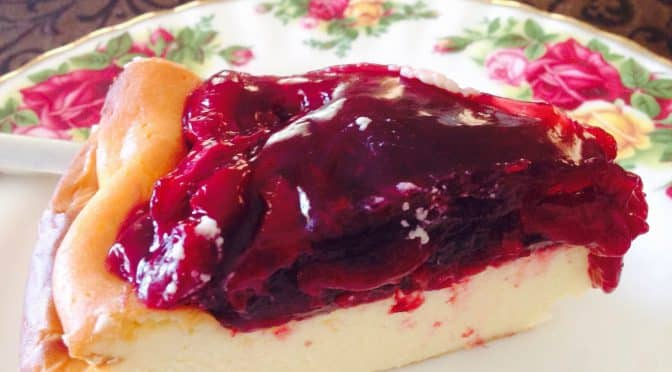 What's Cooking?…Cherry Cheese Cake – No Base