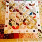 Orange Peel Quilt with Charms – Journey so Far