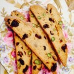 What's Cooking?…Cranberry and Pistachio Biscotti