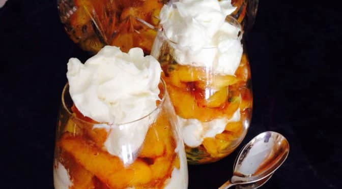 What's Cooking?…Peaches and Cream