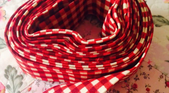 Prepare binding strips for quilts – Tutorial