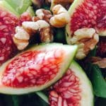 What's Cooking?…Fig, Rocket and Walnut Salad