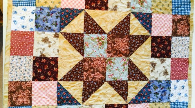 """Star Baby"" Quilt"
