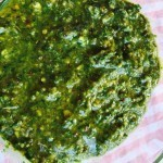 What's Cooking?…Pistachio Pesto