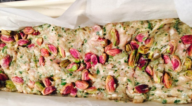 What's Cooking?…Pork and Pistachio Terrine with Chilli Quince Glaze