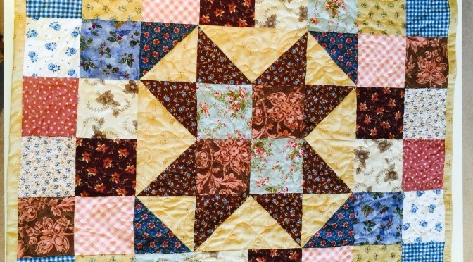 """Star Baby"" Quilt Tutorial"