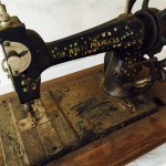 New White Peerless Antique Sewing Machine