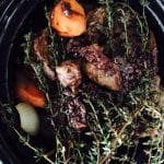 What's Cooking?…Beef, Honey and Thyme in Red Wine