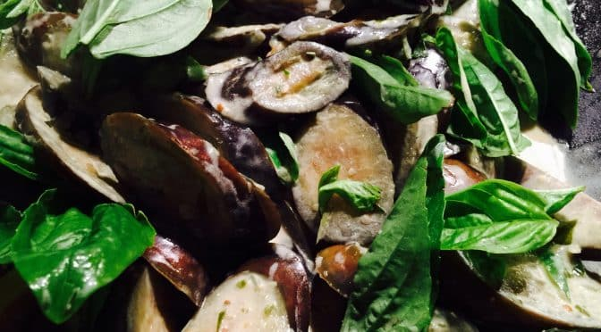 What's Cooking? … Green Curry of Eggplant