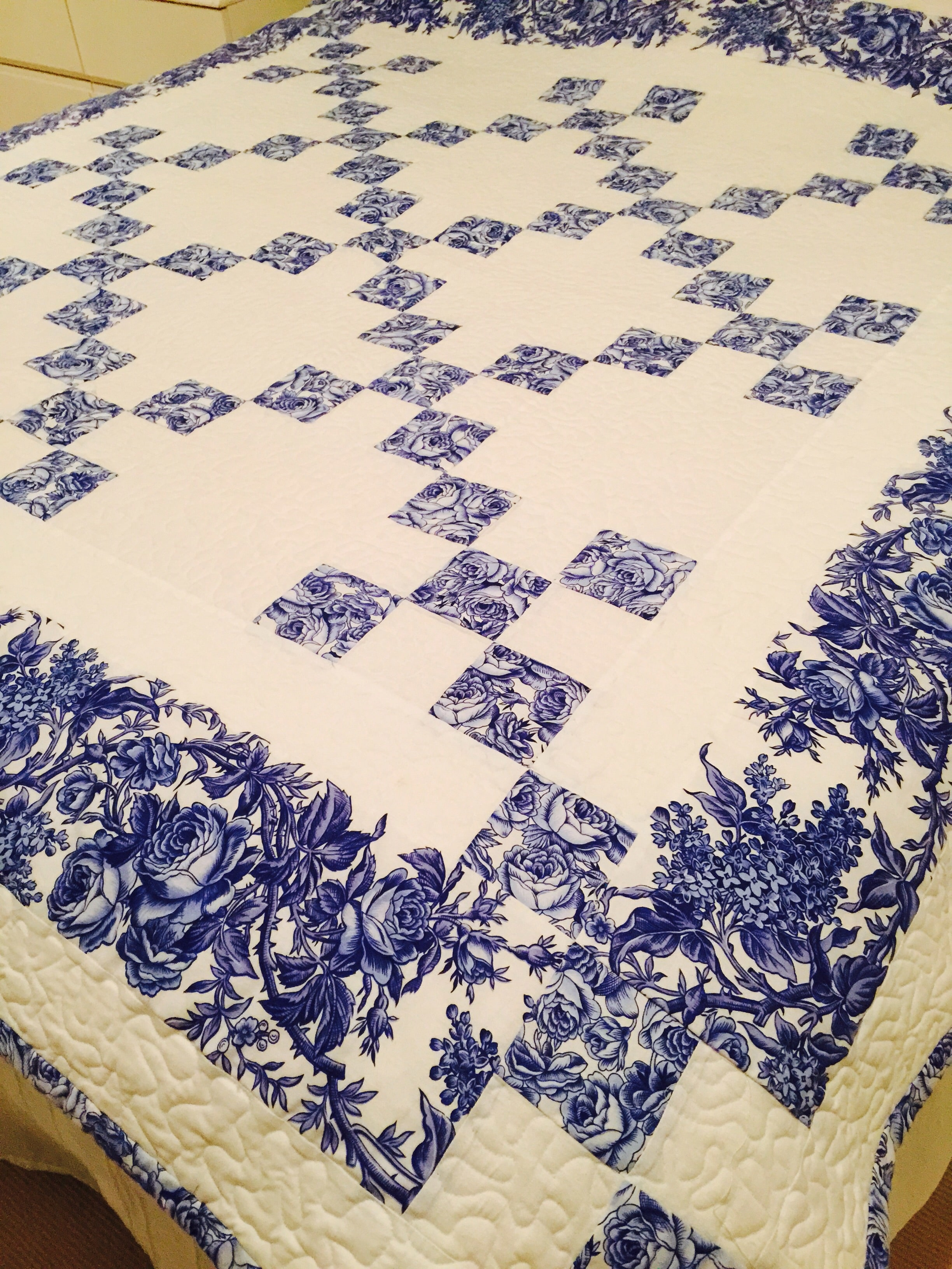 Delft Blue Chaining Nine Patch And Pattern Archives