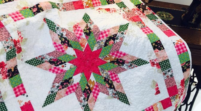 Matilda's Star Quilt and Pattern