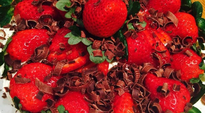 What's Cooking?…Strawberry Sponge Torte