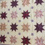 "Charm Square Stars ""Anika's Quilt"" Free Pattern"