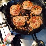What's Cooking?…Herby Hamburgers at Home