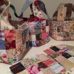 Quilted Scrap Fabric Baskets – Tutorial