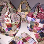 Scrap Fabric Baskets
