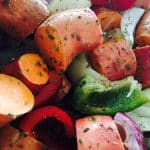 What's Cooking? … Simple Slow Roasted Vegetables