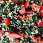 What's Cooking?…Barley Tabouleh