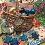 End of Day Quilter's Small Gathering / Gift Basket Tutorial