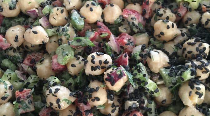 What's Cooking?…Lemon Sesame Chickpea Salad