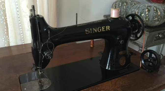 Singer 31K20 Industrial Treadle 1937