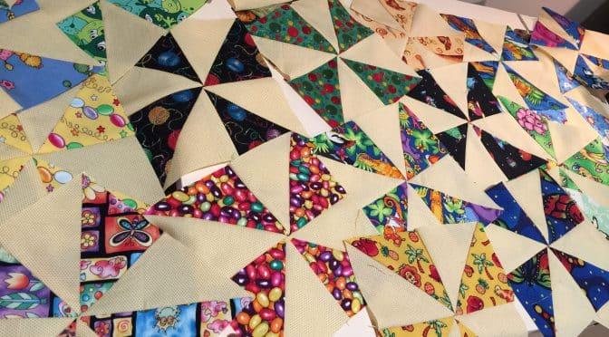 I Spy…Pinwheel Blocks