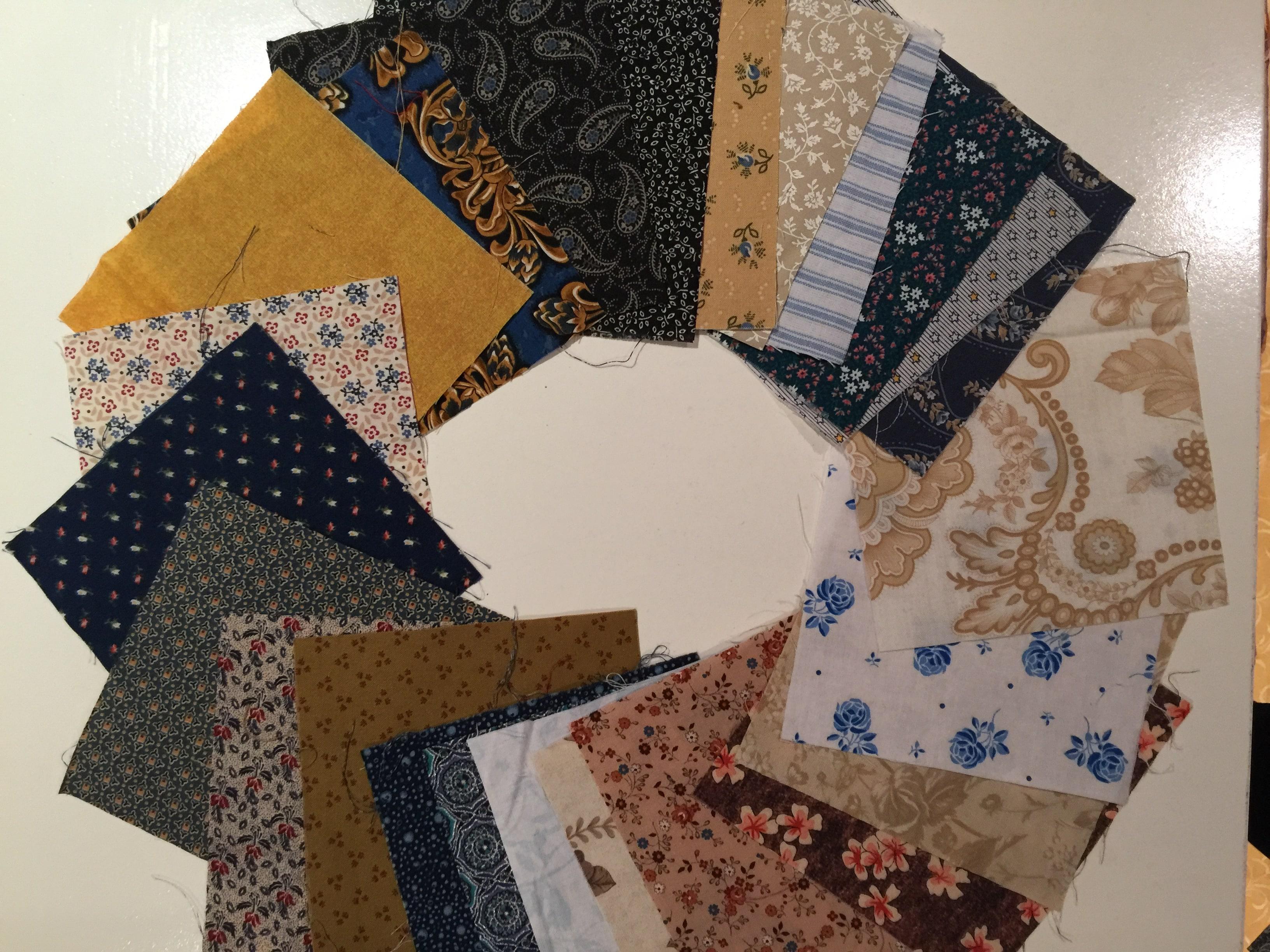 Uneven Nine Patch Quilt Pattern Antique Style Susies Scraps