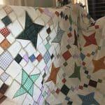 Fettered Friendship Stars Quilt Pattern