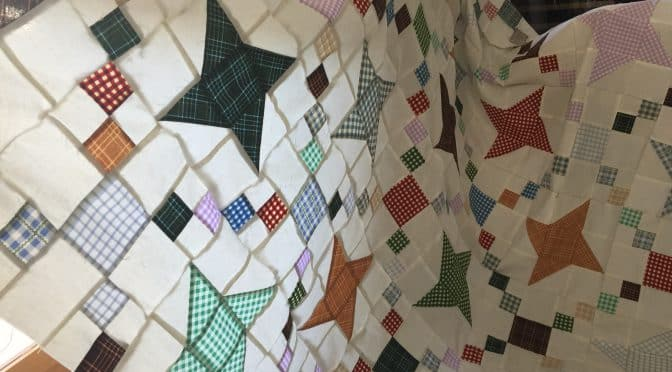 Fettered Friendship Stars Quilt Pattern