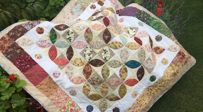 Orange Peel Quilt and Pattern