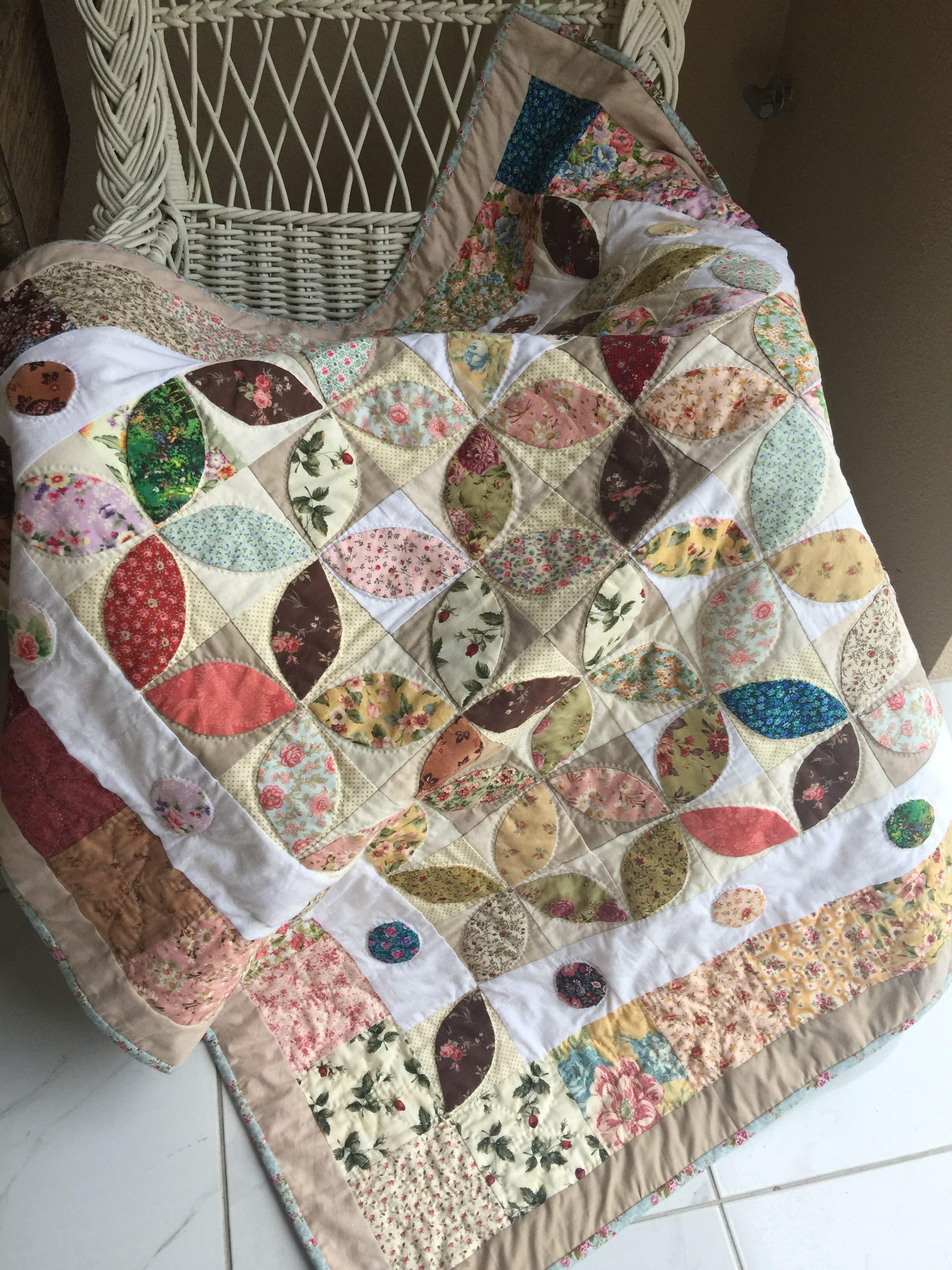 Orange Peel Quilt And Pattern Susies Scraps Com