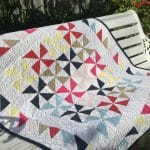 Solid Bold Pinwheels Quilt Pattern