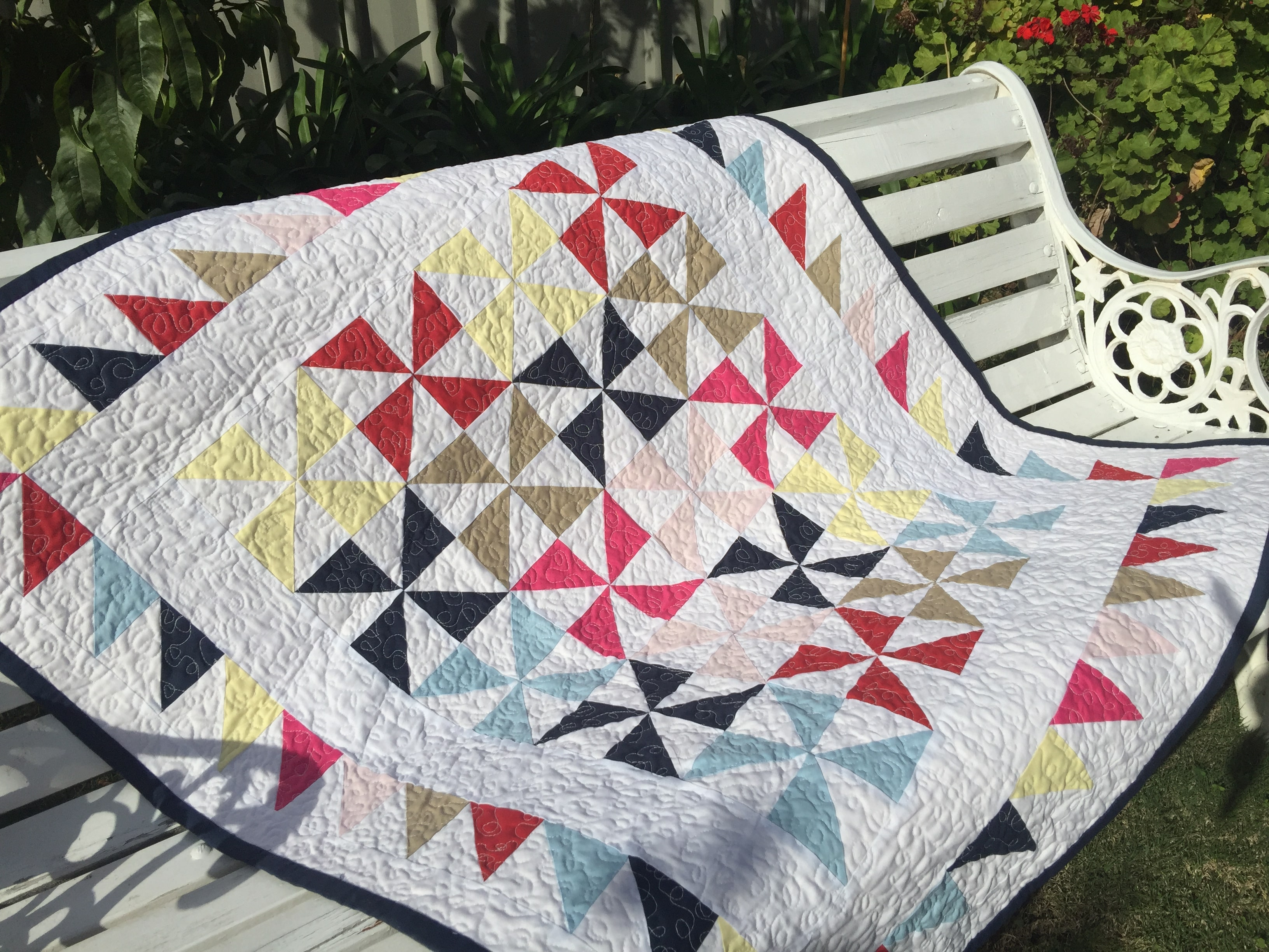 solid bold pinwheels quilt pattern susies