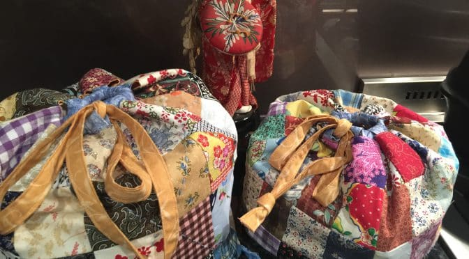 Patchwork Celebration Bags – Antique Japanese Style – Tutorial