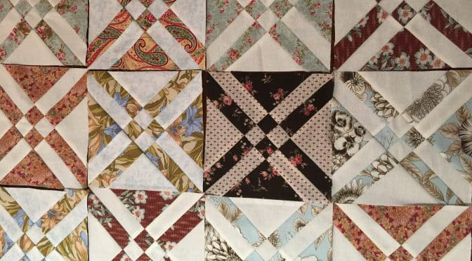 The Arrowhead Quilt Block Made Easy