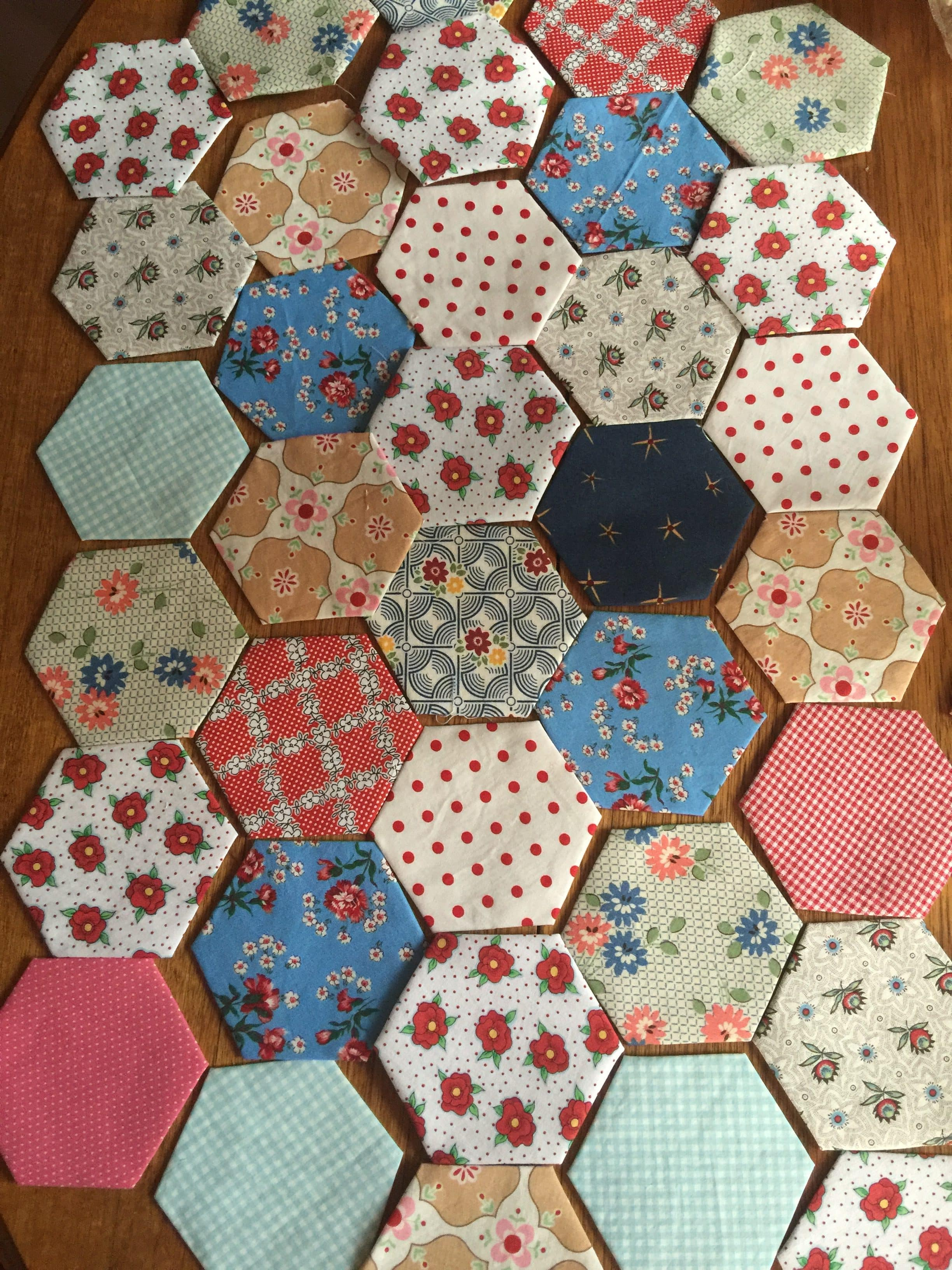 Hexagons Charming Free And Easy