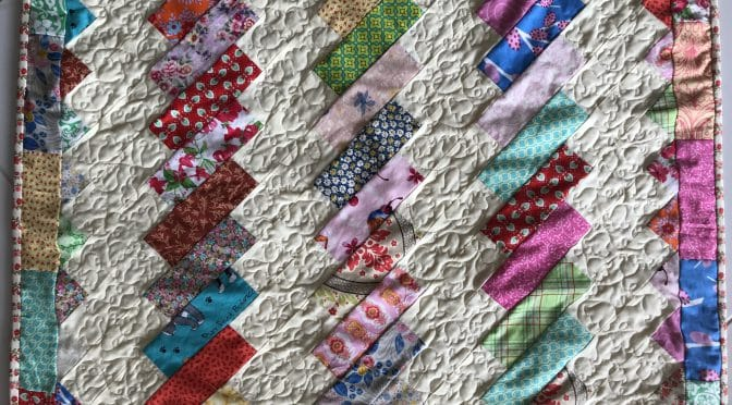 Vintage Twist Baby Quilt & Tutorial