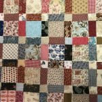 Antique One Patch Block Made Easy