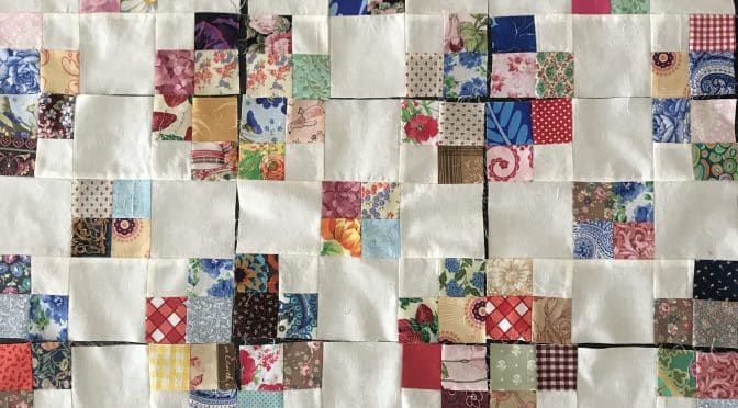 Around the Garden – In Scraps – Block