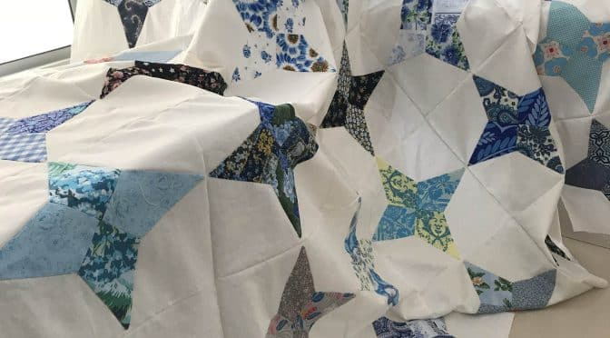 Periwinkle Blues Quilt