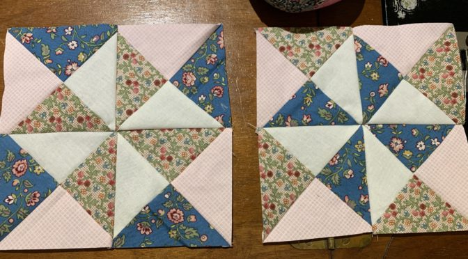 Scrappy Yankee Puzzle Block Made Easy