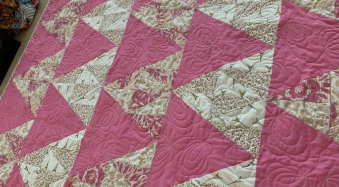 Sugar Plum Fairy Baby Quilt