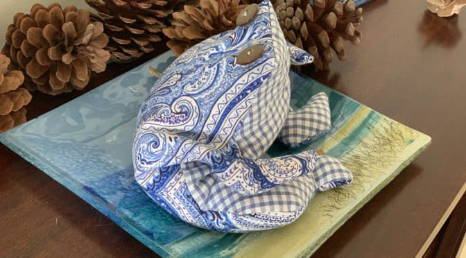 Cane Toad Cutie Bean Bag & Pattern