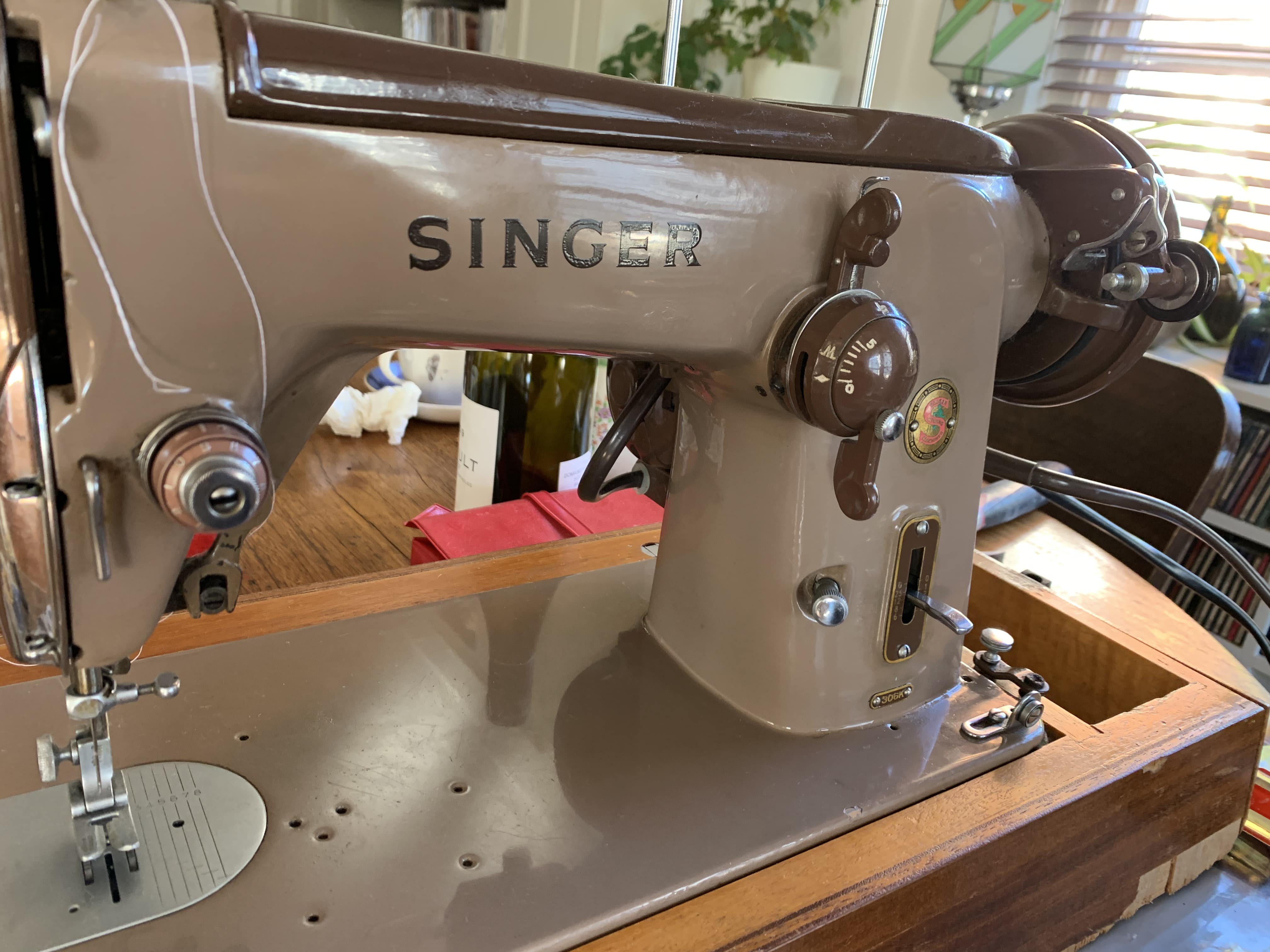 Singer 306k C1961 Susies Scraps Com