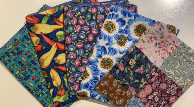 Quilted Kitchen Cleaning Cloths