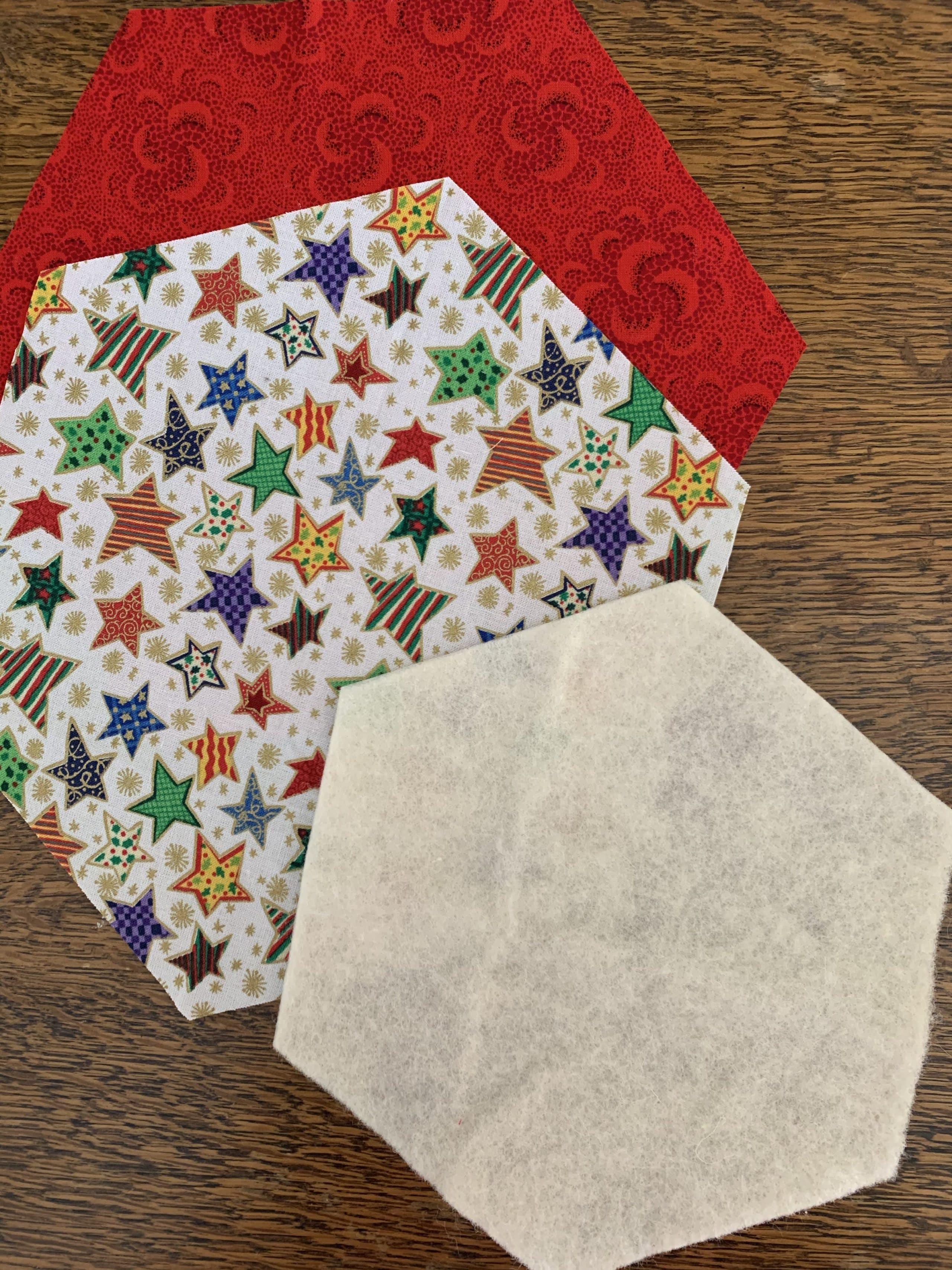 Hexagon Star Snowflake Trivet Susies Scraps Com