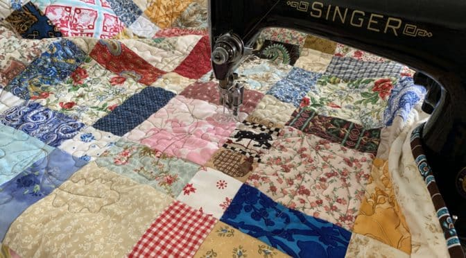 Oak Leaves and Acorns Quilting Free Motion