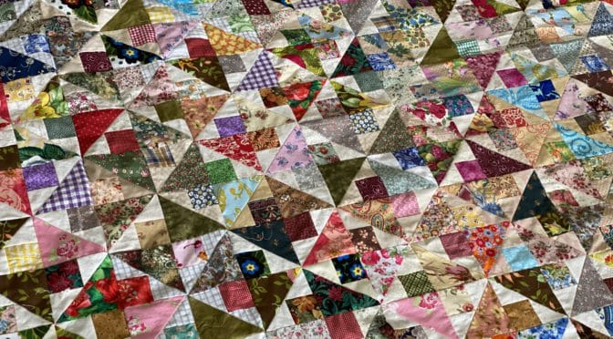 The Spinner Quilt – Part 2