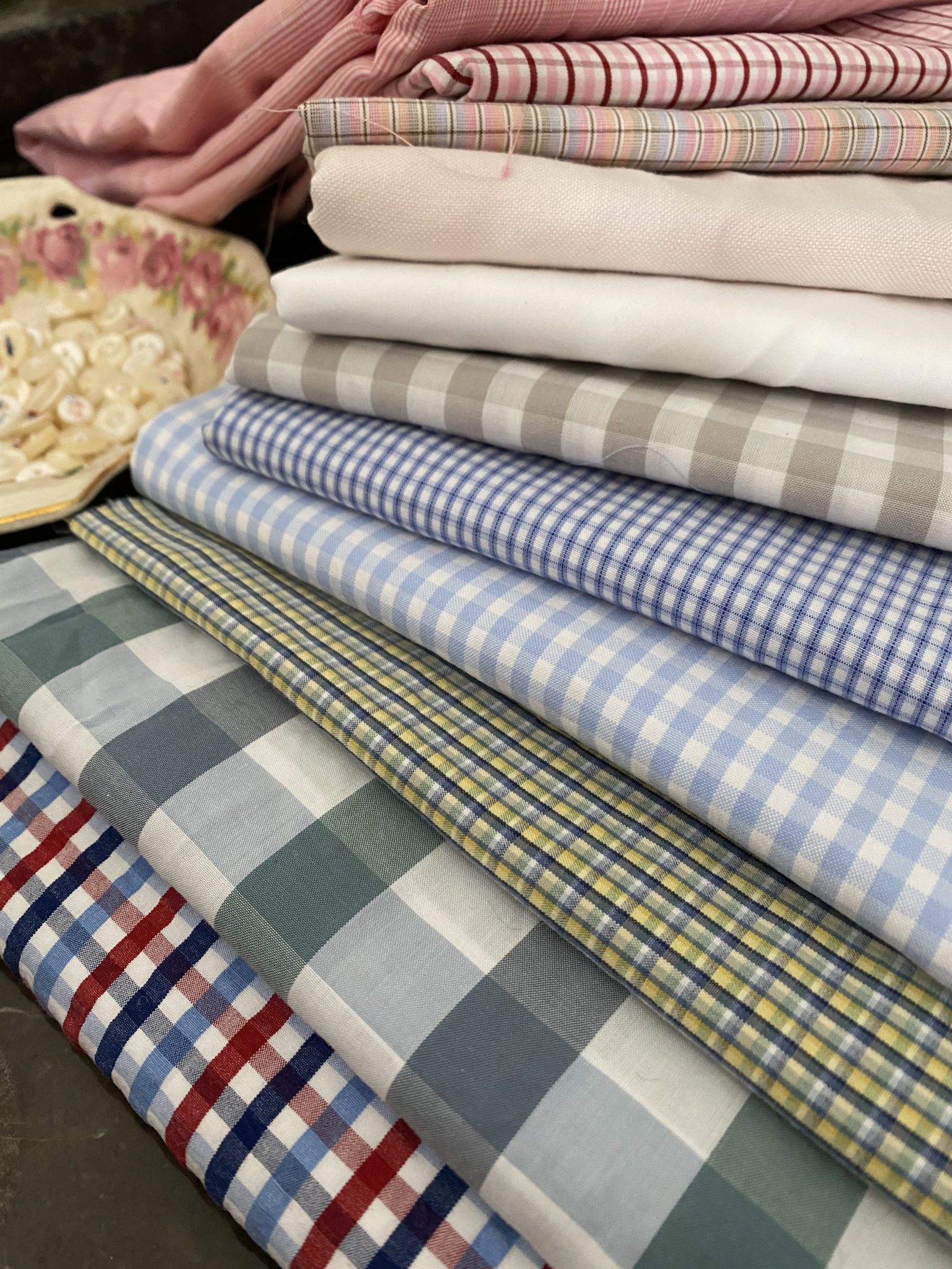Get Shirty susies-scraps.com Make Quilting Fabric from Mens Shirts
